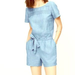 Loft Chambray Denim Jumper